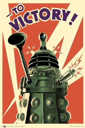 Empire Merchandising 626 097 Doctor Who - Vittoria - poster film della serie televisiva di fantascienza - dimensioni 61 x 91.5 cm