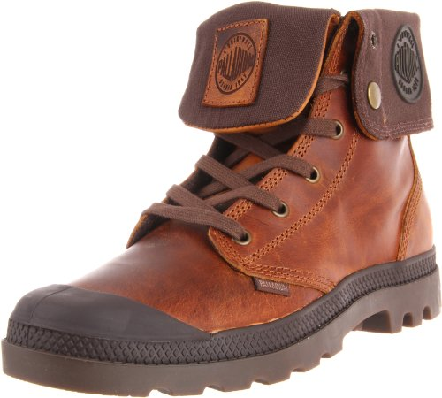 PALLADIUM Men's Baggy Leather-m Sunrise/Chocolate Walking Boot 02356-237-M 8 UK