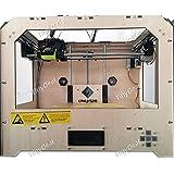 FlashForge Creator Dual Extruder 3D Printer High Precision Wooden Frame Three-Dimensional Physical Printer HHI...
