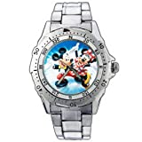 EPSP307 Mickey Minnie Mouse Happy Disney Stainless Steel Wrist Watch