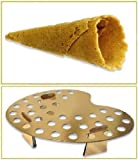 Food Angles Mini Neutral Cones 56 pcs with Serving Tray
