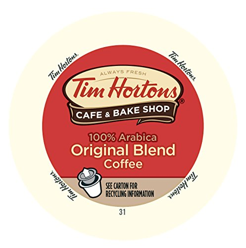 Tim Horton's Single Serve Coffee Cups, Original Blend, 12 Count (Pack of 6) (Coffee K Cups Tim Horton compare prices)