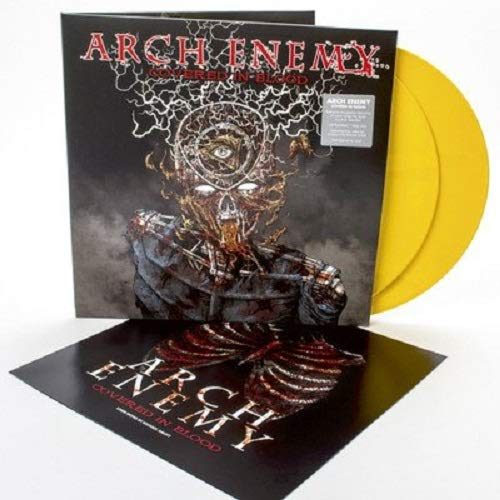 Vinilo : Arch Enemy - Covered In Blood (Colored Vinyl, Gold, Gatefold LP Jacket)