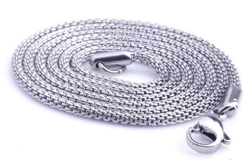 20'' Silver Stainless Steel Snake Chain Necklaces Fashion Jewelry Accessories,101137