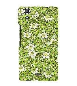 Lotus Flower Cute Fashion 3D Hard Polycarbonate Designer Back Case Cover for Micromax Canvas Selfie 2 Q340