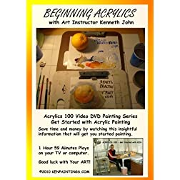 Beginning Acrylics 100 - Get Started
