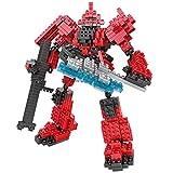 New LOZ Diamond Block I Robots Gundam D Series 17cm 479pcs #9351 Parent-child Games Building Blocks Children's Educational Toys