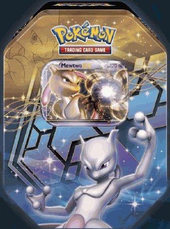 2012 Pokemon Dragons Exalted Mewtwo-EX Legendary Collector's Tin - Pokemon Black & White