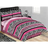 Jungle Queen AR09166-T Complete Bed Set, Twin Size