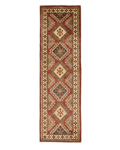 One-of-A-Kind Kazak Rug, Multi, 2 x 7' 6 Runner