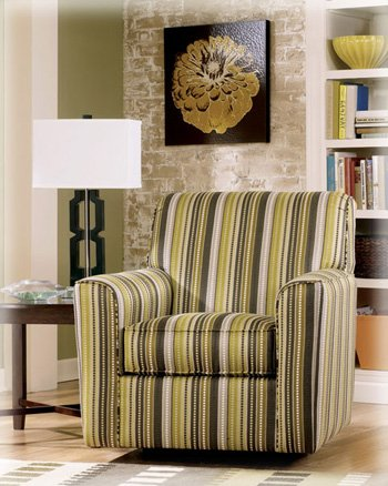 Furniture living room furniture accent chair striped for Striped chairs living room