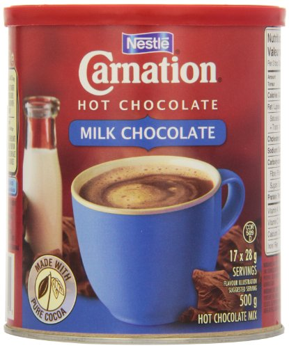 Carnation Hot Chocolate Milk, 500g Canister