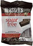 Hershey's Special Dark Chocolate Bars, Sugar Free, 3-Ounce Bags (Pack of 12)