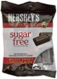 HERSHEY'S SPECIAL DARK Mildly Sweet Chocolate Bar (Sugar Free, 3-Ounce Bags, Pack of 12)