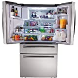 Samsung RF31FMESBSR 31 cu. ft. 4-Door Refrigerator with Automatic Sparkling Water Dispenser