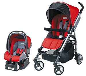 Peg Perego Si Travel System, Paprica (Discontinued by Manufacturer)