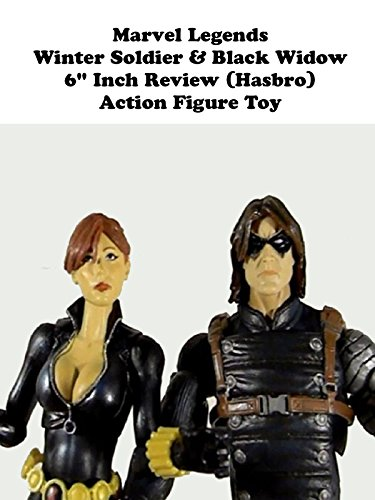 "Marvel Legends Winter Soldier and Black Widow (Hasbro) 6"" inch action figure toy review"