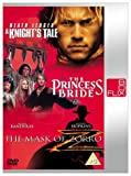 A Knight's Tale/The Princess Bride/The Mask Of Zorro [DVD] [1998]