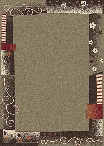 Sona-Lux Gallery Runner-Tappeto moderno tessuto colore: cammello, dimensioni: 300 x 80 cm