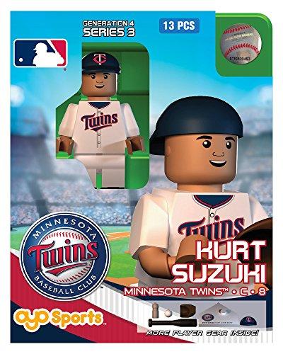 Kurt Suzuki OYO MLB Minnesota Twins G4 Series 3 Mini Figure Limited Edition