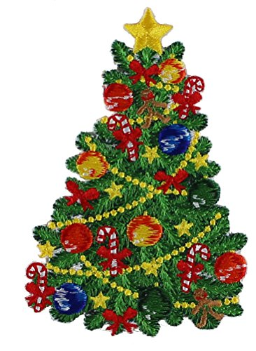 Application Holiday Xmas Tree Patch