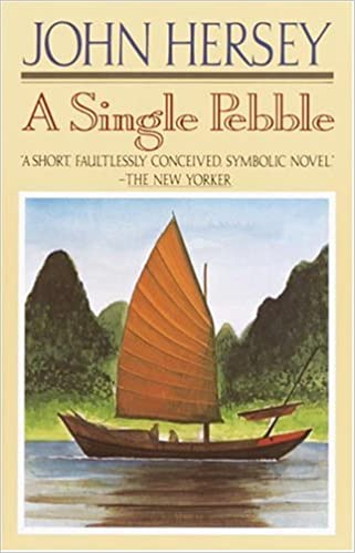 Book cover for A single pebble.