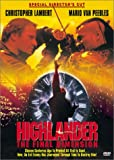 Highlander 3-Final Dimension [DVD] [1994] [Region 1] [US Import] [NTSC]