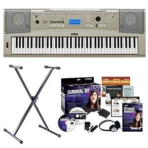 Yamaha keyboard stand car interior design for Yamaha portable grand dgx 220 electronic keyboard