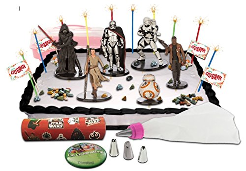 Disney Star Wars The Force Awakens Deluxe Cake / Cupcake Topper Decorating Kit