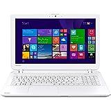 Toshiba Satellite L50-B-1HQ 15.6-inch Notebook (White) - (Intel Core i3-4005U 1.7GHz, 8GB RAM, 1TB HDD, Windows)
