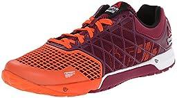 Reebok Women\'s Crossfit Nano 4.0 Training Shoe, Flux Orange/Rebel Berry/White/Black, 10 M US