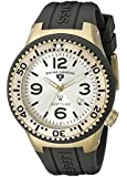 Swiss Legend Men's 21848P-YG-02S Neptune Two-Tone Watch with Silicone Band