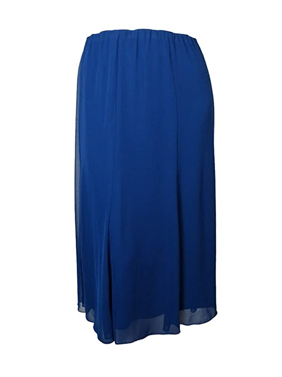 Alex Evenings Women's Full Length Chiffon Skirt