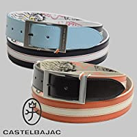 (カステルバジャック) CASTELBAJAC カステルバジャック 本革ベルト 23002-133 CASTELBAJAC fs04gm