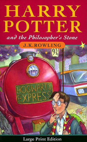 Cover of First Edition/First Printing Harry Potter and the Philosopher's Stone (Harry Potter UK First Editions, Volume 1)