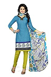 Airs Fashion unstitched synthetic dress material