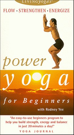 Living Yoga - Power Stamina Yoga for Beginners [VHS]