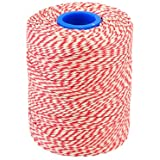 Red/White Bakers & Butchers String/Twine 300m UK Made Best Quality