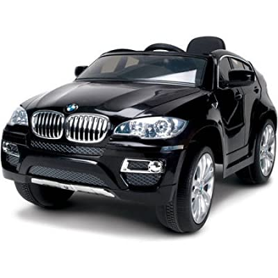 Huffy BMW X6 6-Volt Battery-Powered Ride-On Durable Resin Body, Black