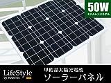 50W 単結晶ソーラーパネル 太陽光パネル