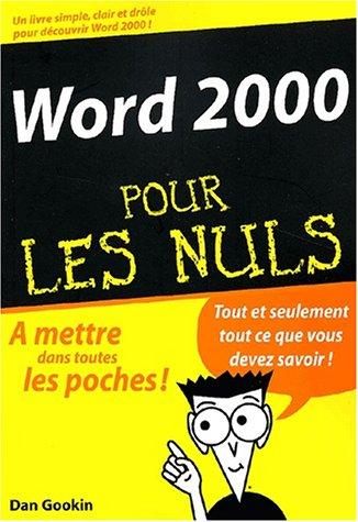 Livre word 2000 pour les nuls - L immobilier pour les nuls ...
