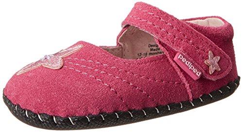 Pediped Originals Starlite Crib Shoe (Infant/Toddler),Fuchsia,Medium (12-18 Months)