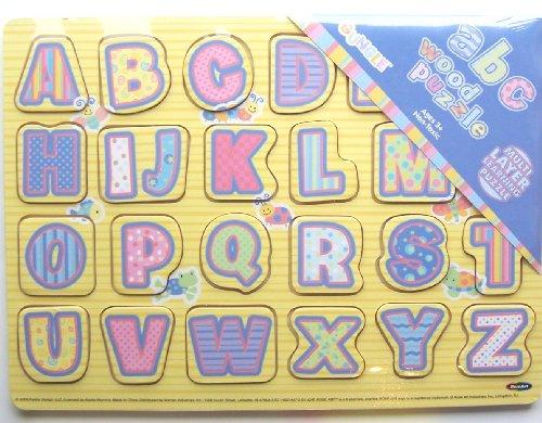 Gungle ABC Alphabet Wood Puzzle