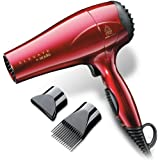 Elevate by Andis 80405 Professional Lightweight Tourmaline Ceramic Ionic 1875 Watts Hair Dryer