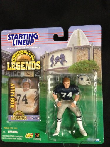 Starting Lineup NFL Legends Bob Lilly Dallas Cowboys #74 Hall of Fame