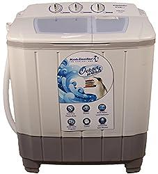Kelvinator KS60VAGL-DNB Semi-automatic Top-loading Washing Machine (6 Kg,Grey Light)