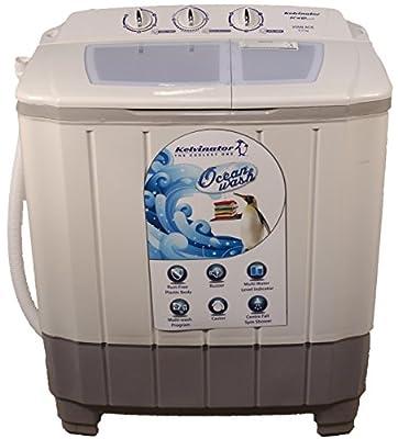 Kelvinator KS60VAGL-DNB Semi-automatic Top-loading Washing Machine (6 Kg, Grey)