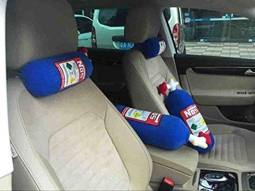 1Pc NOS Bottle Car Seat Headrest Neck Cushion Pillow Pad