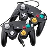 2x Controller Pad Joypad Gamepad für Nintendo Wii GameCube PC Videospiele Zubehör