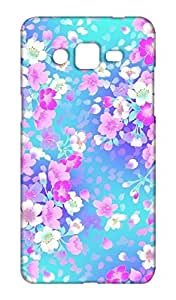 Samsung Galaxy Grand Max Floral Print Design Mobile Case Hard Back Cover for girls - Printed Designer Cover - SGGMFLRLB10